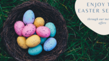 Enjoy the Easter season through our members' offers