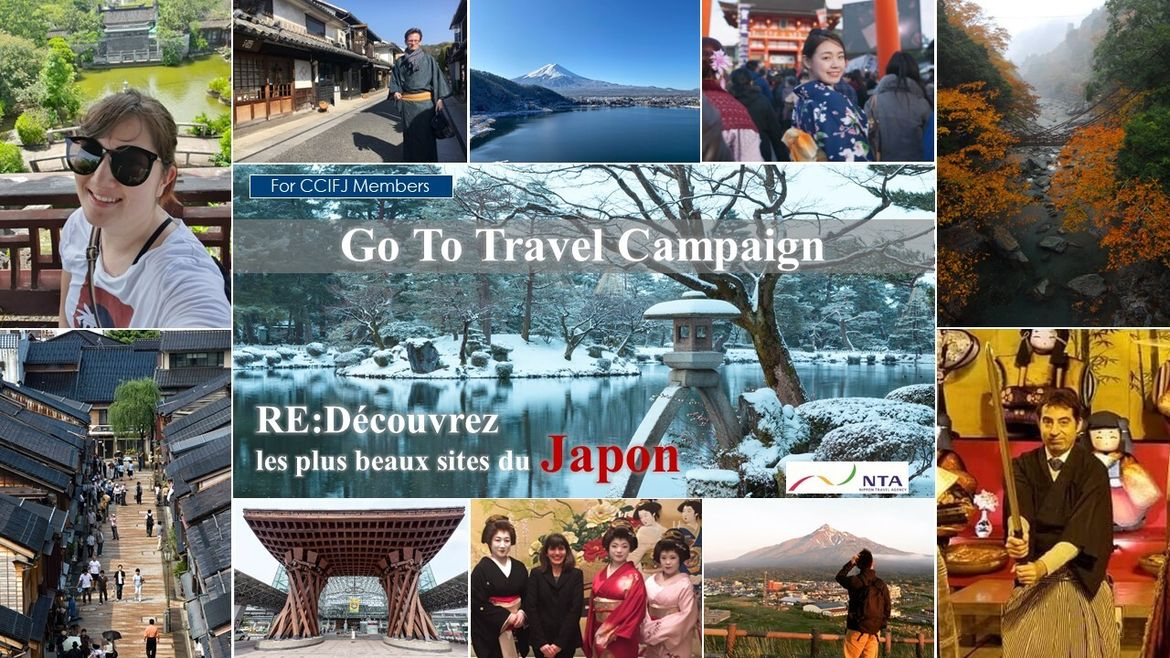 "Go to Travel: ""Ready to visit Japan with NTA?"""