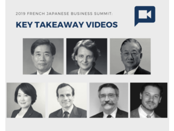 2019 French Japanese Business Summit: Key Takeaway Videos - part 2
