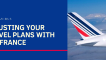 CORONAVIRUS : adjusting your travel plans with Air France